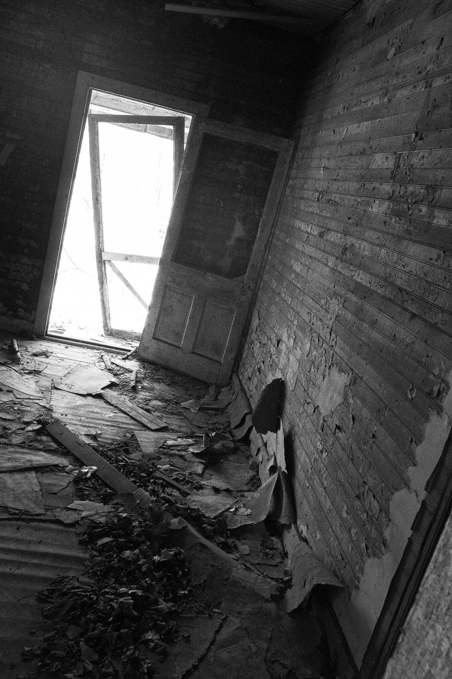 Uneven Hallway