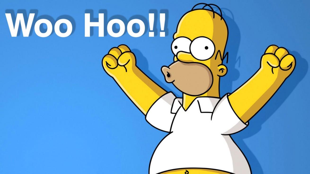 Homer Simpson Woo Hoo